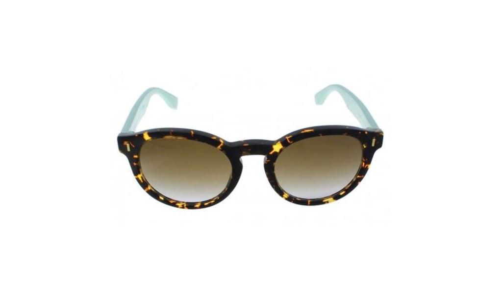 8478e2de5d68 Click Image for Gallery. Fendi Sunglasses FF 0085FS HK4 IF women s  sunglasses in round shape. The frame material is acetate ...