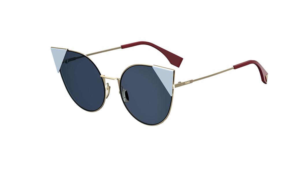 996ec470da10 Women s Fendi Sunglasses Lei FF 0190S 000A9