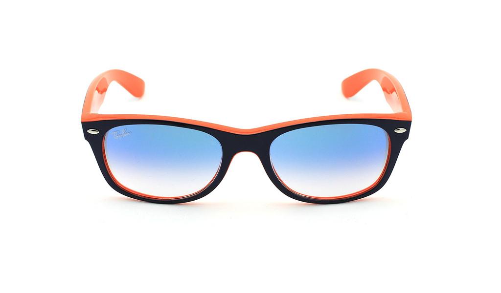 3394ad17c9 Πατήστε εδώ για την γκαλερί. Unisex γυαλιά ηλίου Ray-Ban New Wayfarer Color  Mix RB2132 789 3F σε σχήμα wayfarer.