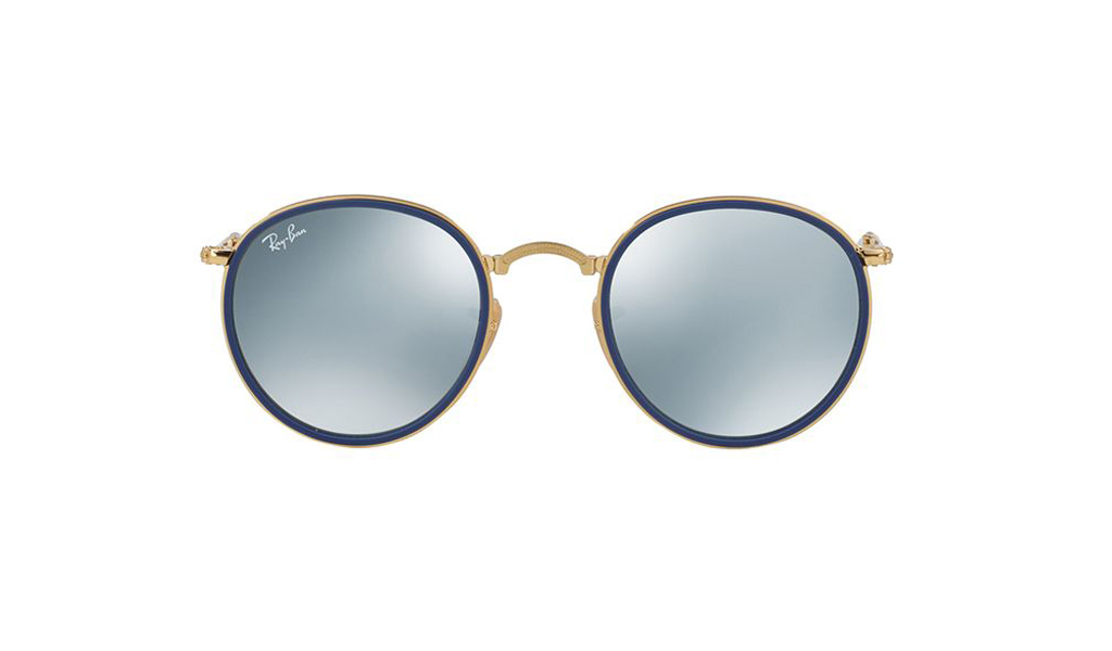 fdb84114f4a ... coupon for ray ban sunglasses round folding flash lenses rb3517 001 30  e8f83 af680 ...