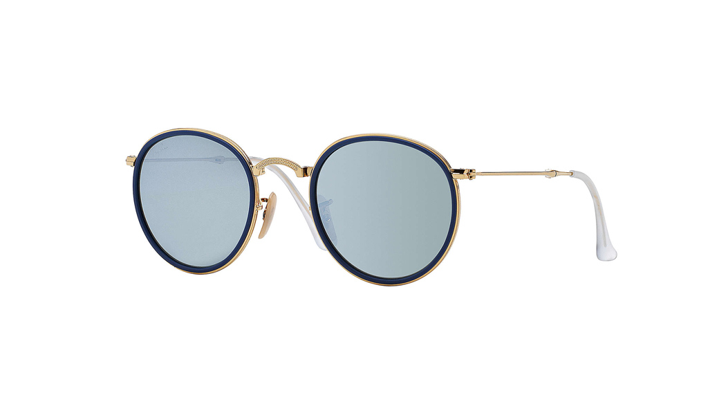 cdf8fce76860 ... coupon for ray ban sunglasses round folding flash lenses rb3517 001 30  b53ed 2684f