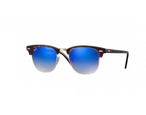 Γυαλιά ηλίου Ray-Ban Clubmaster Flash Lenses RB 3016 9907QE bb3aff1d513