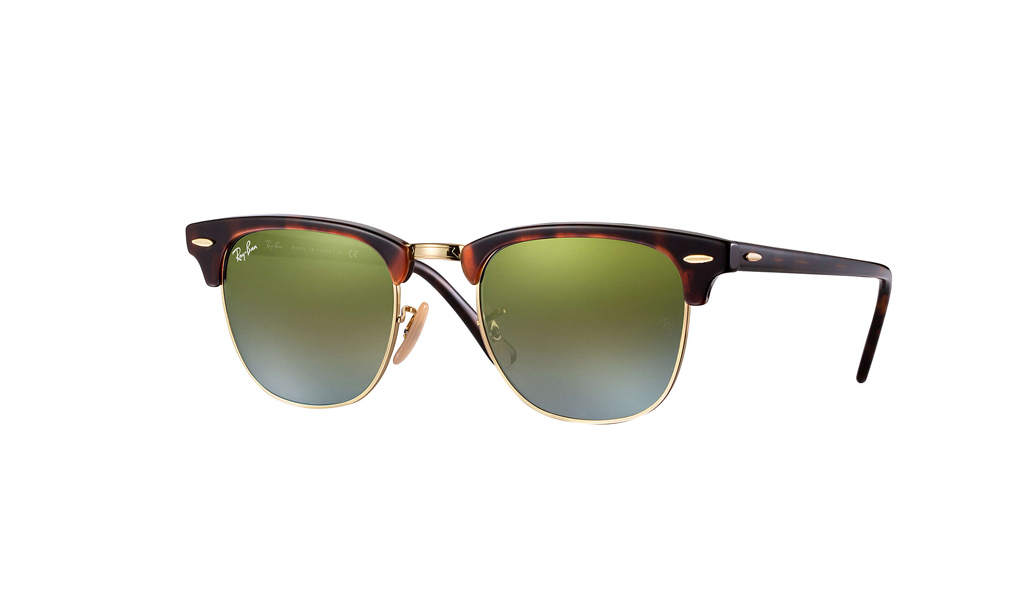12afb8f52d Unisex γυαλιά ηλίου Ray-Ban Clubmaster Flash Lenses RB3016 9909JE ...