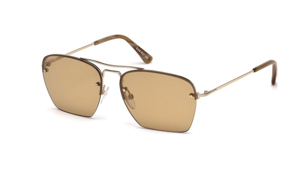 Ανδρικά   Unisex Γυαλιά ηλίου Tom Ford FT0504 28E  bf862fbd24a